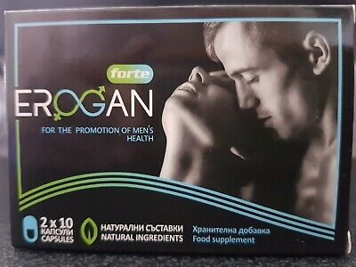 Erogan Forte,For Promotion of Male Sexual Function,20 Capsules
