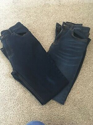 Boys River Island Jeans 2 Pairs Age 12 Years