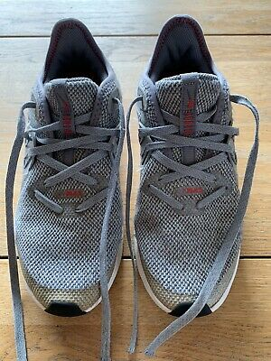 Nike Air Max Sequent 3 - UK Size 3.5 - Grey & Red - Boys/Girls