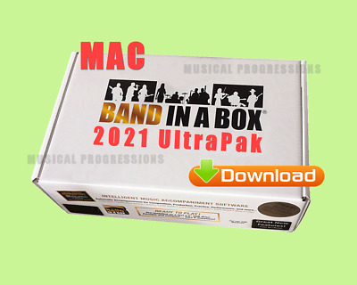 Band In A Box 2020 Ultrapak - Digital Mac Audio Music Software - New Full Retail