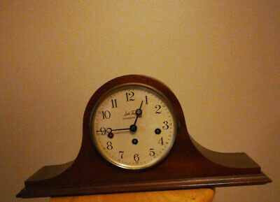 SETH THOMAS 11 Westminster Chime Mantle Clock 2 Jewel West Germany Free Shipping