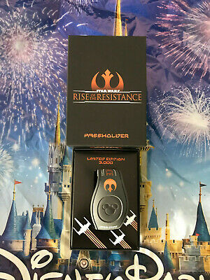 Disney Star Wars Rise Of The Resistance Opening Day Passholder MagicBand LE3000