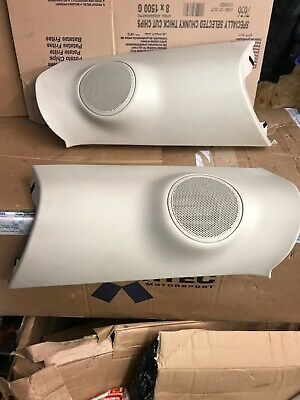 2008 Range Rover L322  Post Pillar Trim Panel Speaker Covers EMS500041 EMS500040