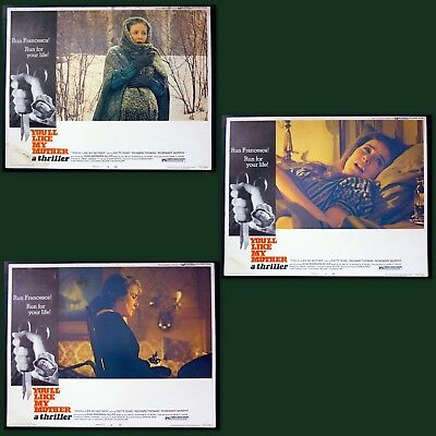 You'll Like My Mother  - 1972  lobby cards 1,5,& 7