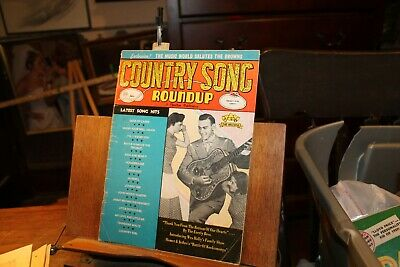 Vintage January 1960 Country Song Roundup Magazine The Browns