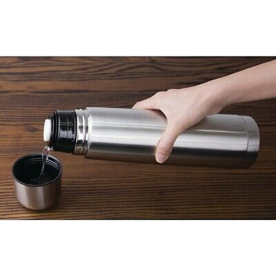 Olympia Vacuum Flask Stainless Steel 1 Litre