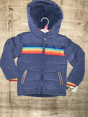 Little Bird By Jools Oliver Unisex Fur Lined 6-7 Years  Coat / Jacket 🌈 Bnwt