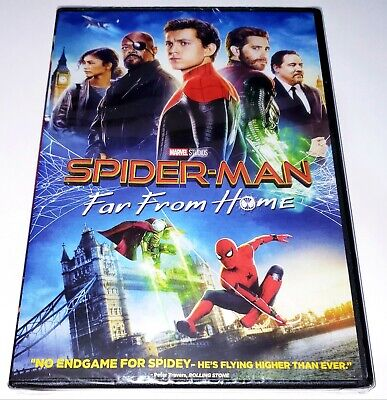 Spider-Man: Far From Home (DVD, 2019) Brand New Sealed