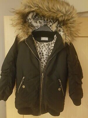 Girls next winter coat age 6 immaculate condition