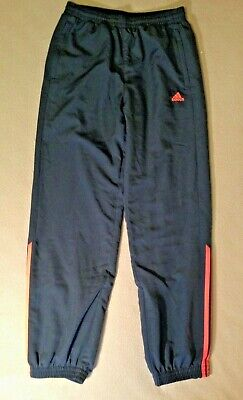 Adidas Boys Tracksuit Bottoms Trousers Pants Size 13-14 Years
