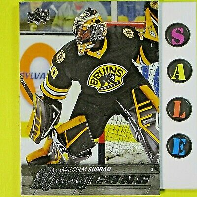 MALCOLM SUBBAN  2015-16  ROOKIE YOUNG GUNS   #211   Las Vegas Golden Knights