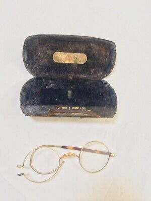 Vintage - Glasses and Glass Case