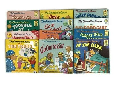 Lot of 12 Berenstain Bears Childrens Picture Books Softcover