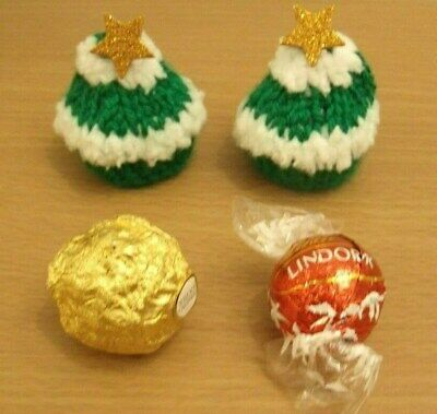 Knitting Pattern For A Christmas Tree Ferrero Chocolate Cover