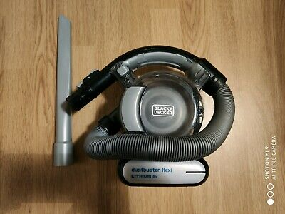 BLACK & DECKER 18v Li-Ion Dustbuster Flexi Vacuum Missing charger and attachment