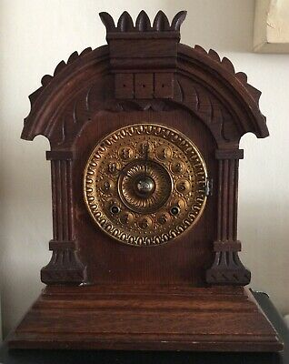 Antique Ansonia Mantel Clock c1890. 8 day striking. Full working order