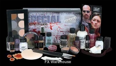 Mehron Special Effects Professional Makeup Kit for Theater Halloween Zombies