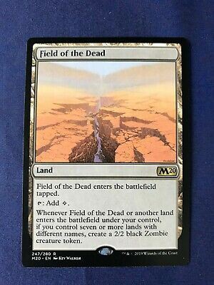 MTG Magic the Gathering Field of the Dead Core Set 2020 x1