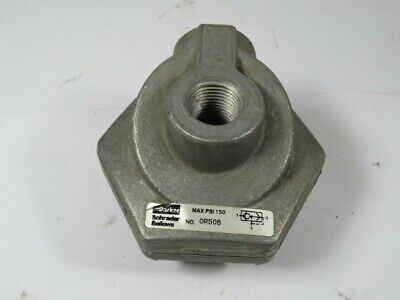 Parker 0R50B Quick Exhaust Valve 150 PSI 450 SCFM  USED