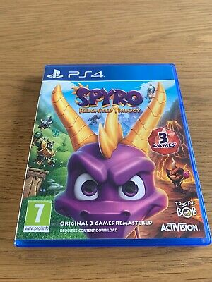 Spyro Reignited Trilogy PS4 Region Free