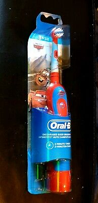 Braun Oral-B Stages Power Kids Boys Disney Cars Toothbrush