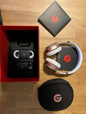 Beats by Dr. Dre Solo3 Wireless Headband Headphones Rose Gold