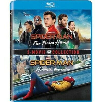 Spider-man: Far From Home and Spider-man Homecoming  (Blu-ray, 2019, 2 Discs)