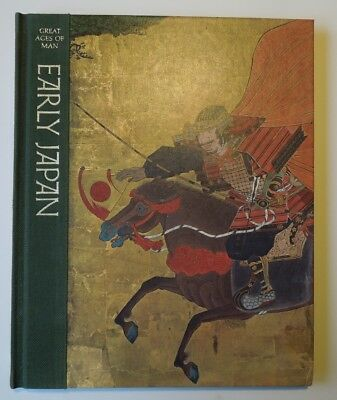 "Great Ages Of Man -- ""Early Japan"" Time Life Book hard cover History"