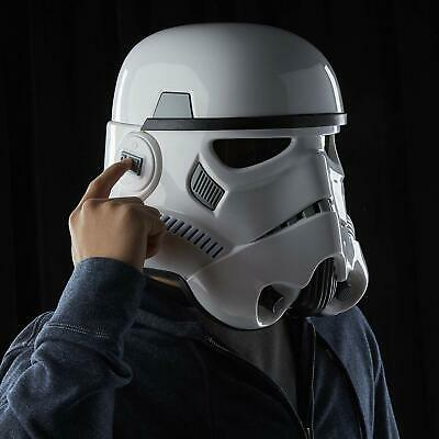 Star Wars Black Series Imperial Stormtrooper Electronic Voice Changer Helmet NEW