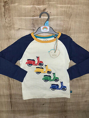 Little Bird By Jools Oliver 2-3 Long Sleeve Top Motorbike 🌈 NEW SEASON