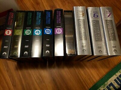 Star Trek Deep Space Nine Seasons 1-7 The Complete Series on DVD 1 2 3 4 5 6 7