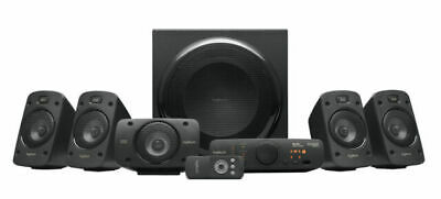 Logitech Z906 THX 5.1 Surround Sound Speakers - Black