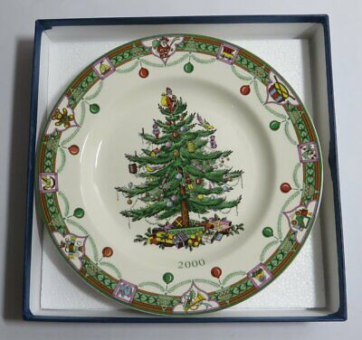 Compton & Woodhouse 'The Spode Christmas Tree 2000 Plate' Boxed & Certificate