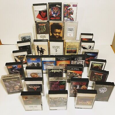 YOU CHOOSE! Cassette Tapes RARE Aerosmith Led Zeppelin ACDC The Doors and more!