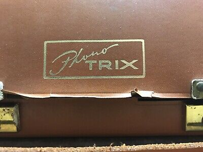 Vintage Phono Trix Reel To Reel In Original Case