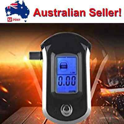 Portable Professional Digital LCD Alcohol Breathalyser Breath Tester