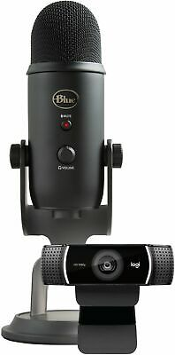Blue Microphones - Pro Streamer Pack with Blue Yeti USB Microphone & Logitech...