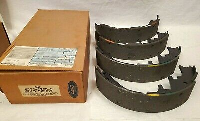 NEW GENUINE OEM Ford F7RZ-2200-CB Rear Drum Brake Shoes