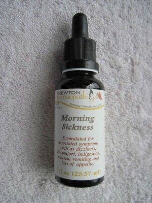 Newton Homeopathics Morning Sickness 1 fl oz Dropper Bottle Dizziness Nausea