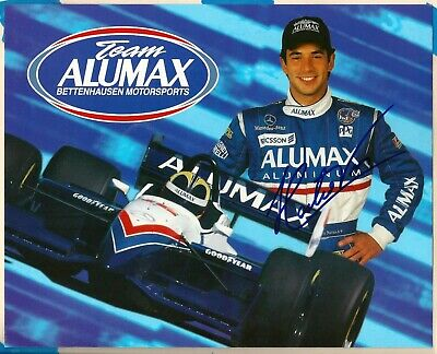 Helio Castro-Neves Autograph Signed 8x10 Post Card - Indy Car - Indy 500 Winner