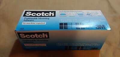 Scotch Positionable Mounting Adhesive (11in x 50ft)