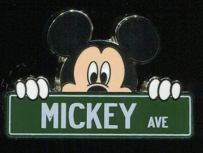 Streets Parks Signs Mystery Mickey Ave Disney Pin 114171