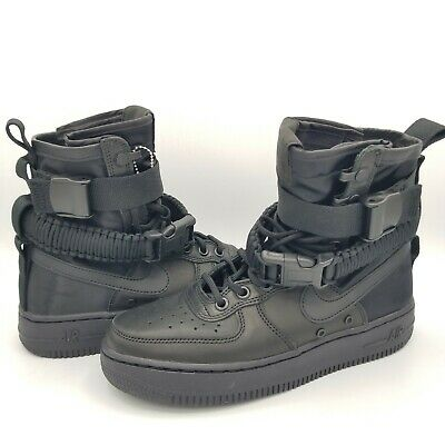 WOMENS NIKE SF AF1 Special Field Size 8 Boots Cedar Brown