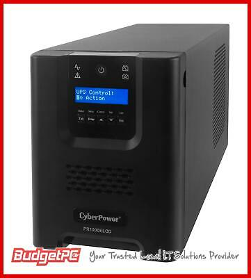 CyberPower PRO Series 1000VA Tower UPS with LCD