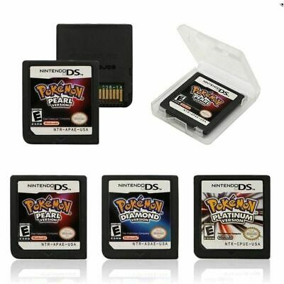 For 2DS 3DS NDSi XL DS Lite Pokemon Platinum Pearl Diamond Cartridge Game Card