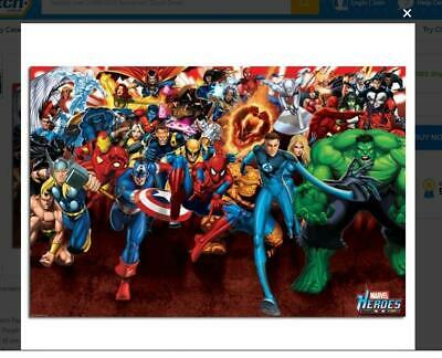 Marvel Heroes Attack Poster by Impact Posters No.418 still wrapped - BRAND NEW