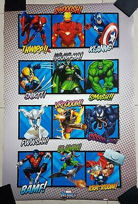 Marvel Characters Poster by Impact Posters No.13 still wrapped - GOOD CONDITION