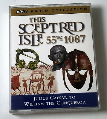 This Sceptred Isle 55 BC - 1087 read by Paul Eddington 2-cassettes audio