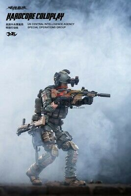 JOYTOY 1//18 CIA Task Force Special Soldier JTHC005 Male Action Figure Body Toys