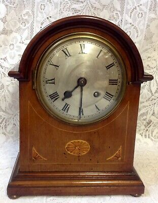 Antique Inlayed Mahogany Striking Bracket Clock, No. 5891 Salisbury?